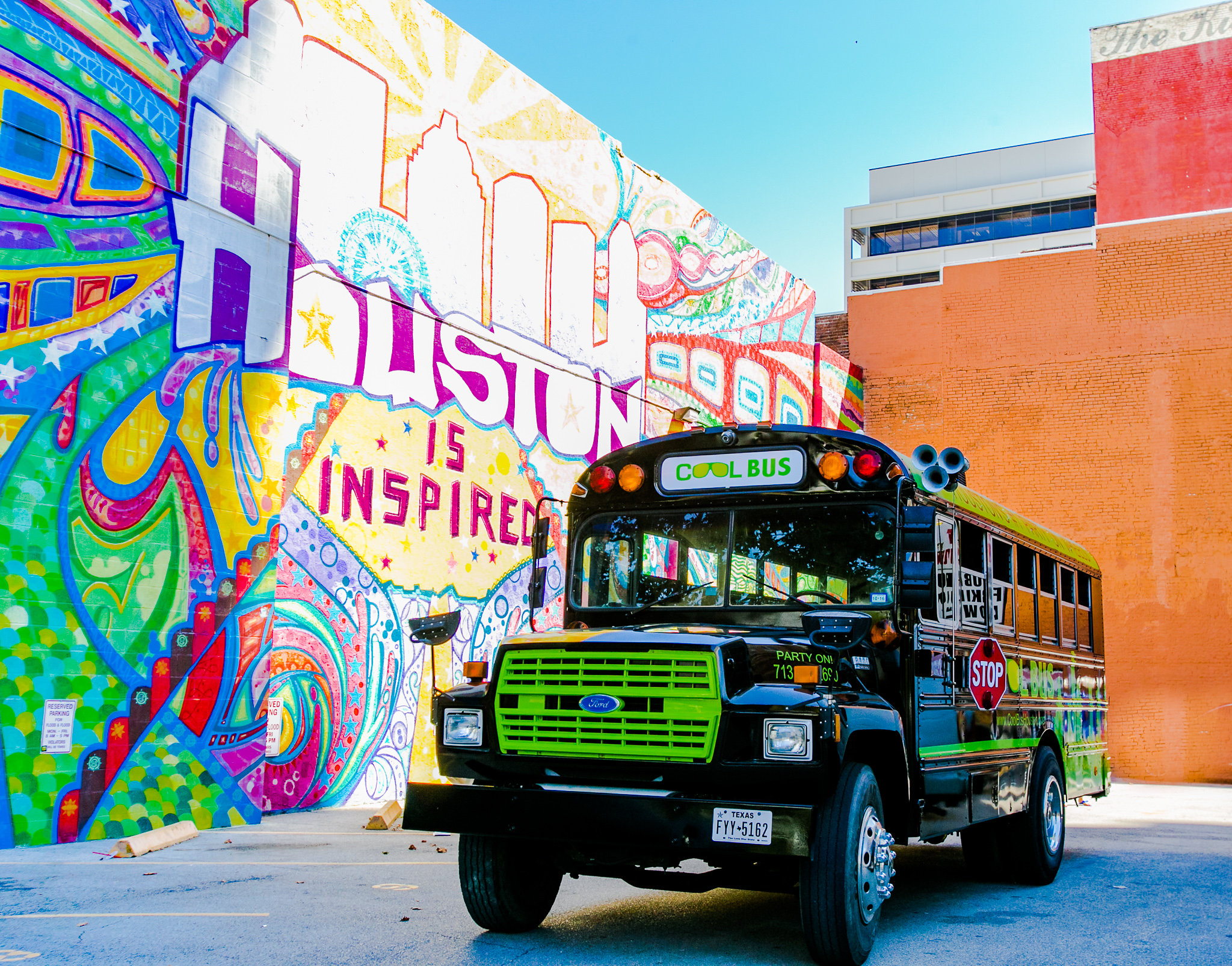 Cool Bus Houston at Houston Art