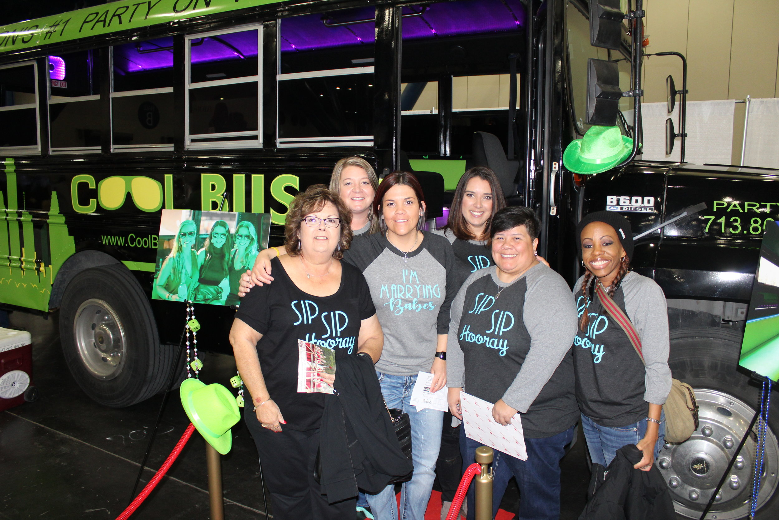Cool Bus Houston - Houston party bus at The Bridal Extravaganza