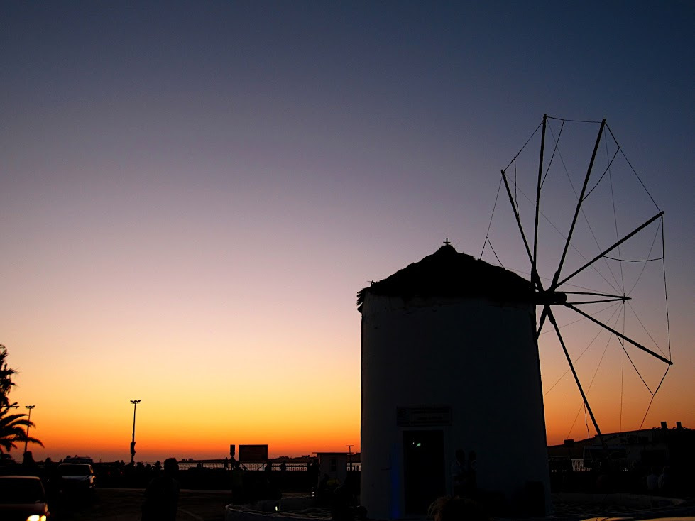 The Famous Windmills of Greece
