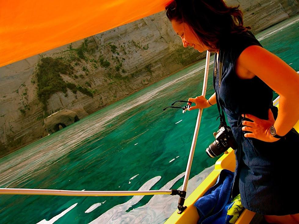 Boating in Greece