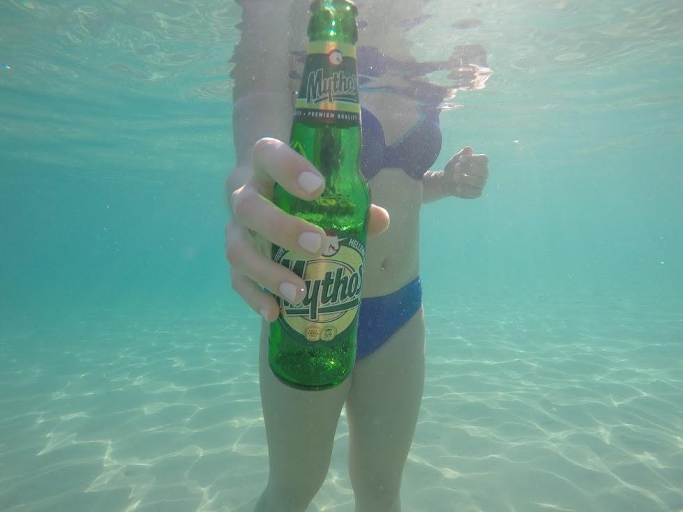 Underwater Fun in Greece