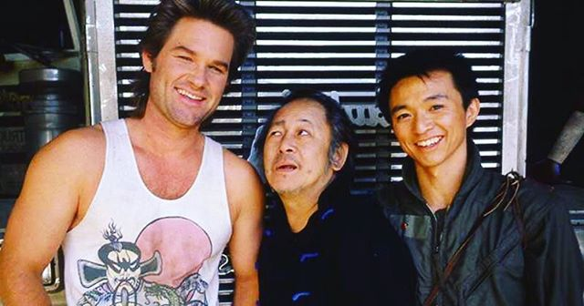 We are smiling because in one week we get to see Big Trouble In Little China back on the big screen @franklintheatre! AND we get free fortune cookies!
