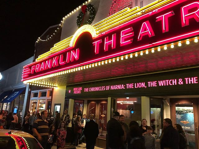 Who is patiently waiting for another Movie Gang Event?  @franklintheatre
