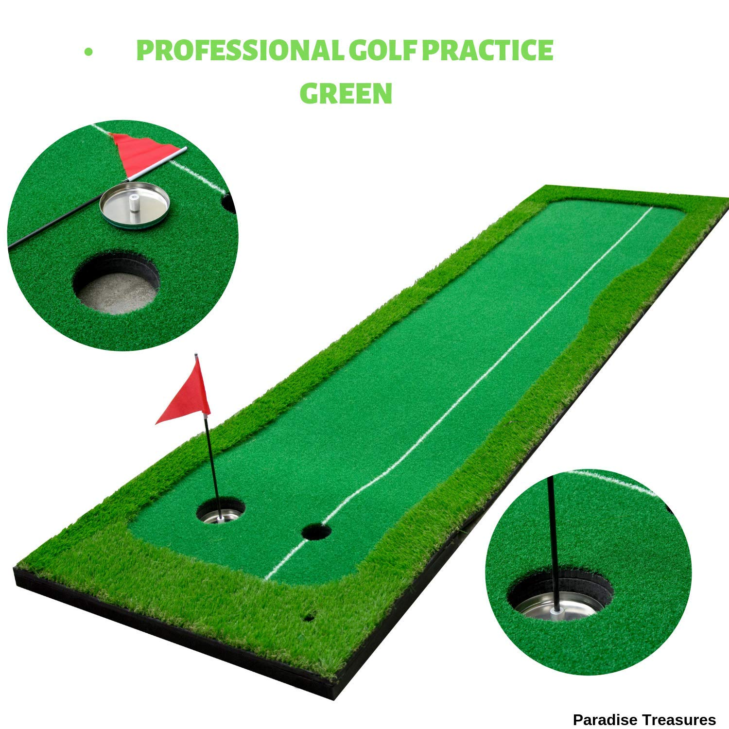 Paradise Treasures Indoor / Outdoor Putting Green