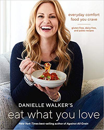 Chandler: Eat What You Love by Danielle Walker. AMAZING paleo cookbook that we use almost daily!  CLICK THE PIC  to check it out!
