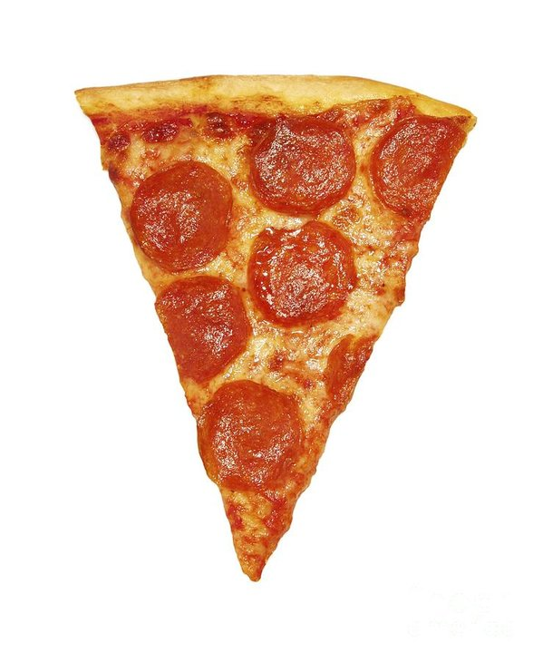 Derek is loving the pizza slice shaped spot in their garage. So help yourself to a little pizza today.