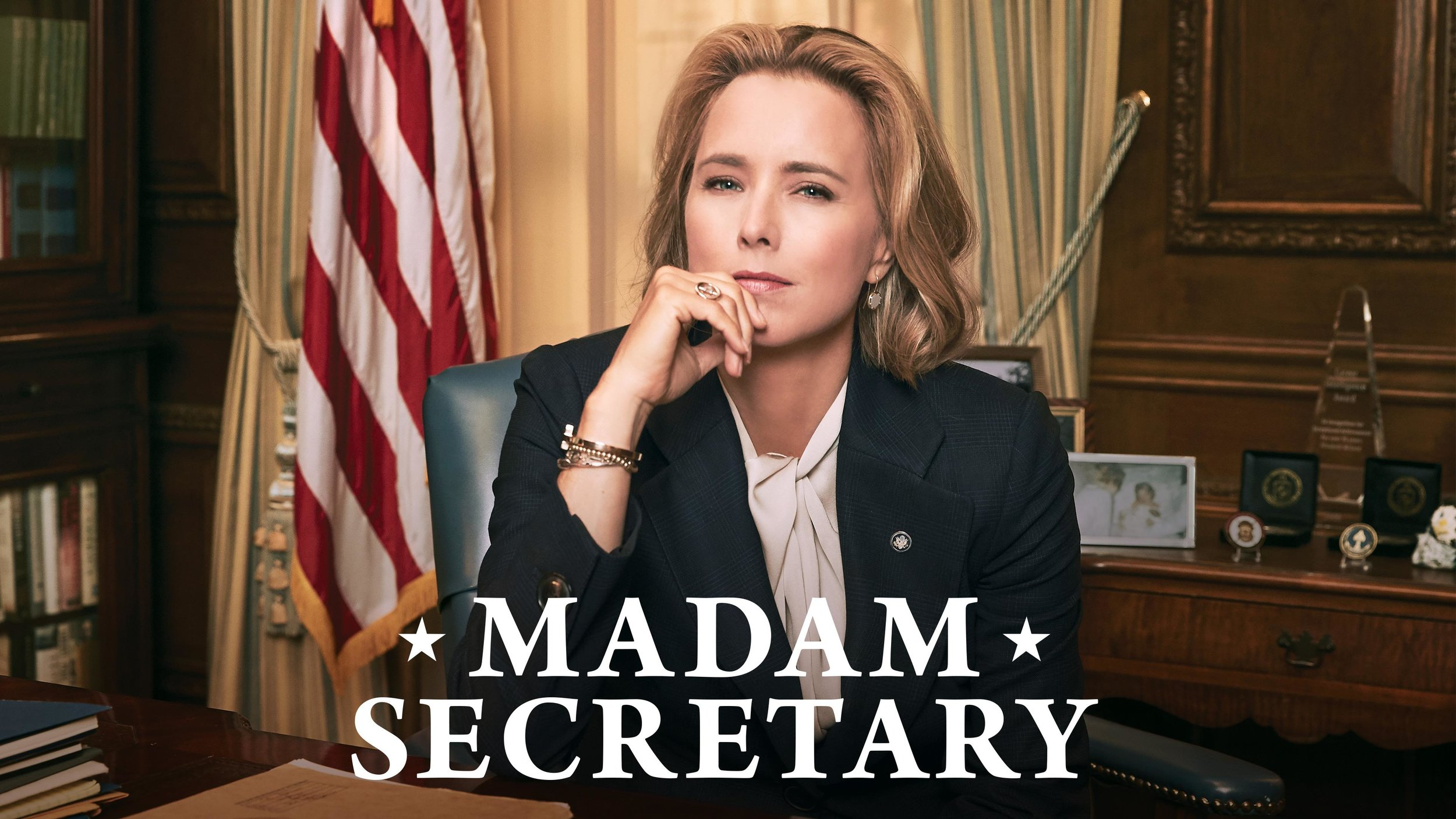 Jeremy - I'm loving the TV show Madam Secretary. We started watching it last year, and a new season just came out on Netflix in June that we've been working through. It's well written and entertaining.