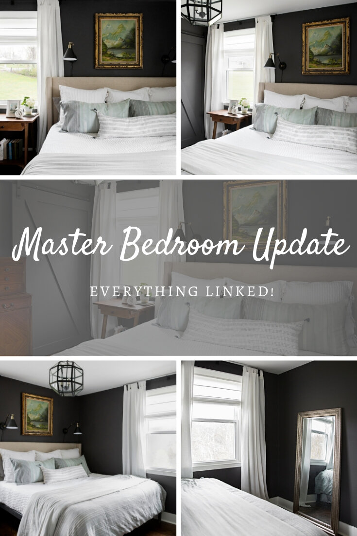 Master Bedroom Shopping List - Peach and Pine Home