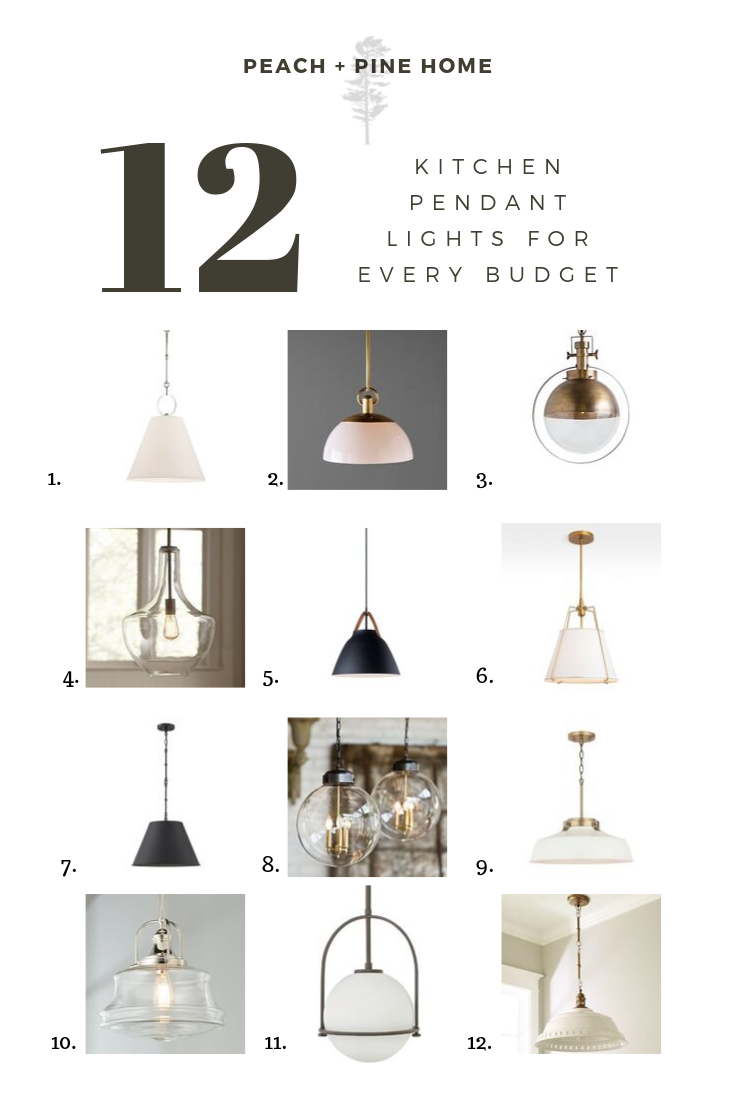 12 Kitchen Pendant Lights For Every Budget