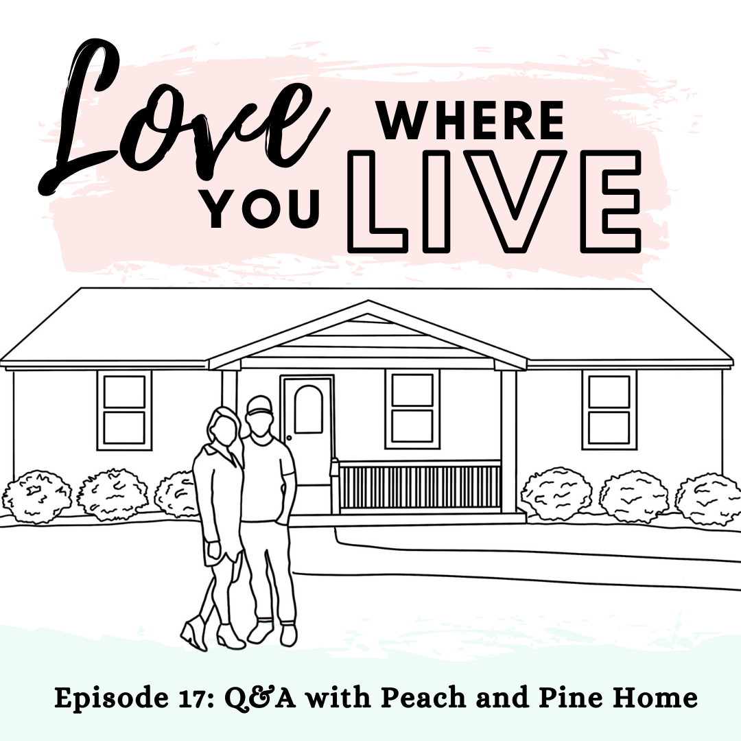 Q&A with Peach and Pine Home, interior design podcast