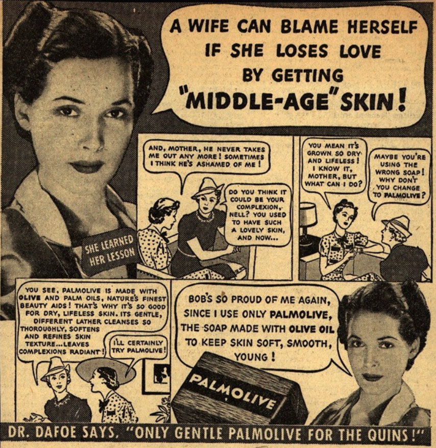 They targeted the youthful appearance many ethnic women have.