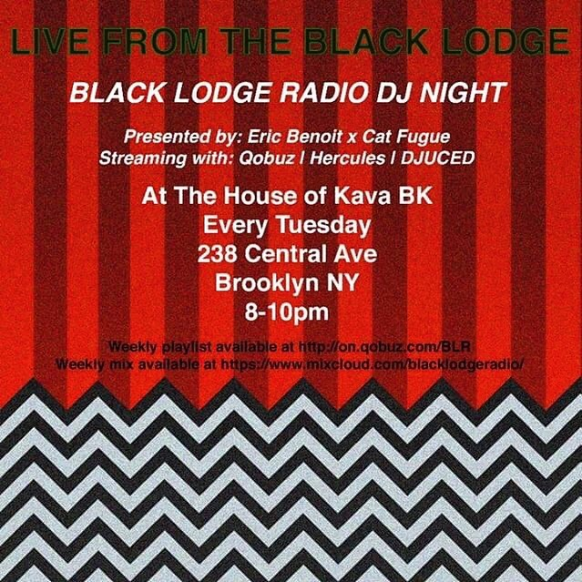 Tonight! Come by the bar from 8-10 for some yummy kava drinks and even yummier dark experimental music with this week's Black Lodge Radio - now a live weekly DJ set.  Can't make it? Catch the week's playlist at @qobuzusa or @mixcloud.  Presented by @ben.wht and @jeffhollandisalive 😈 🎵 🎶 🎵 🎶 🎵 🎶 🎵 #kratomlife #kava #kavacommunity #kratomsaveslives #kavabar #bushwick #bushwickbar #brooklyn #brooklynbar #houseofkava #nyc #openmic #nycopenmic #openmicbrooklyn #positivevibes #bartenderlife #goodvibes #monday #mondaymotivation #bushwickartist #bushwickartists #blacklodgeradio #broadcastinglive #music #musicshow