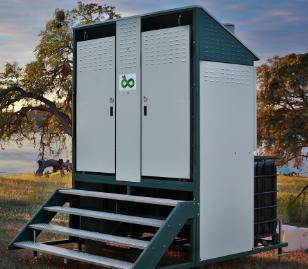 Ecozoic Biofilter toilets.