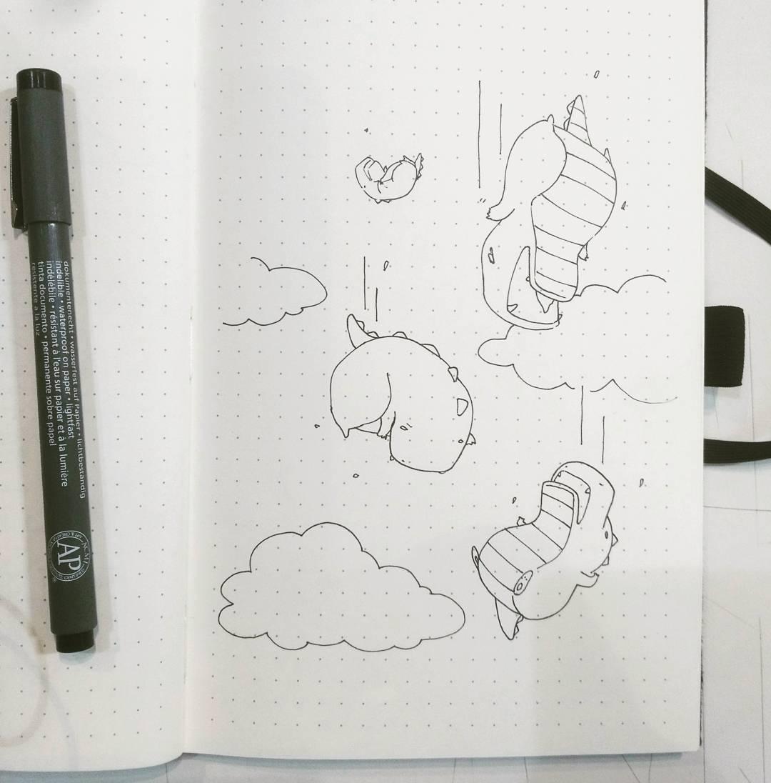 I dream of raining dinosaurs.