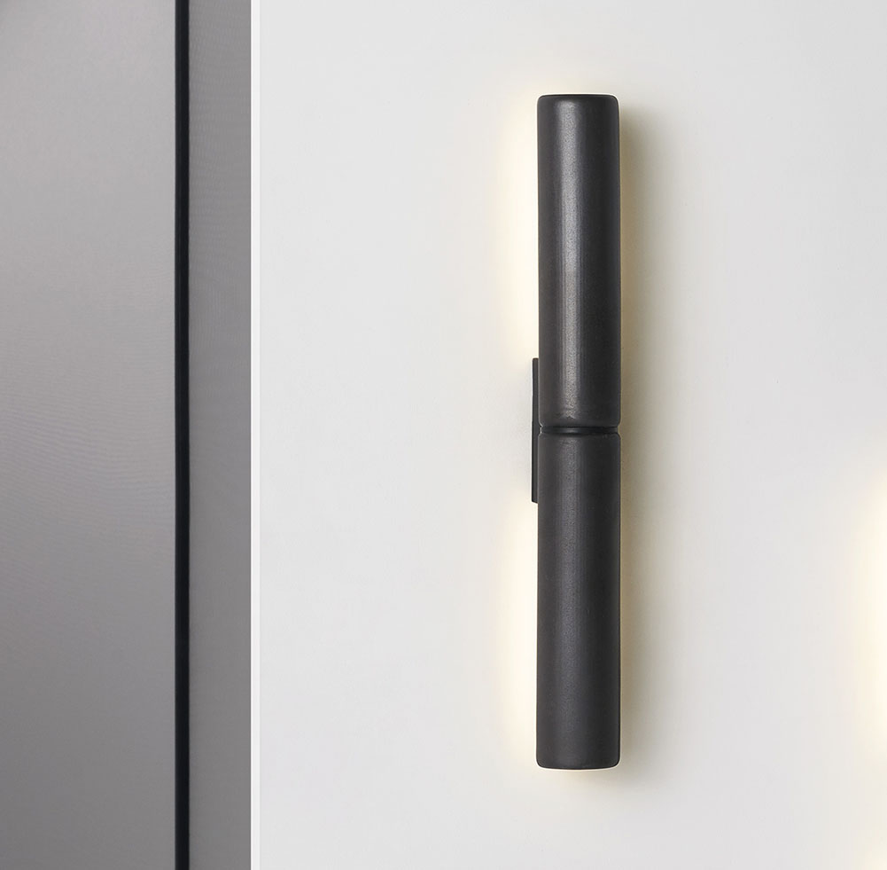 Potter DS Wall Light in Charcoal Glaze Finish