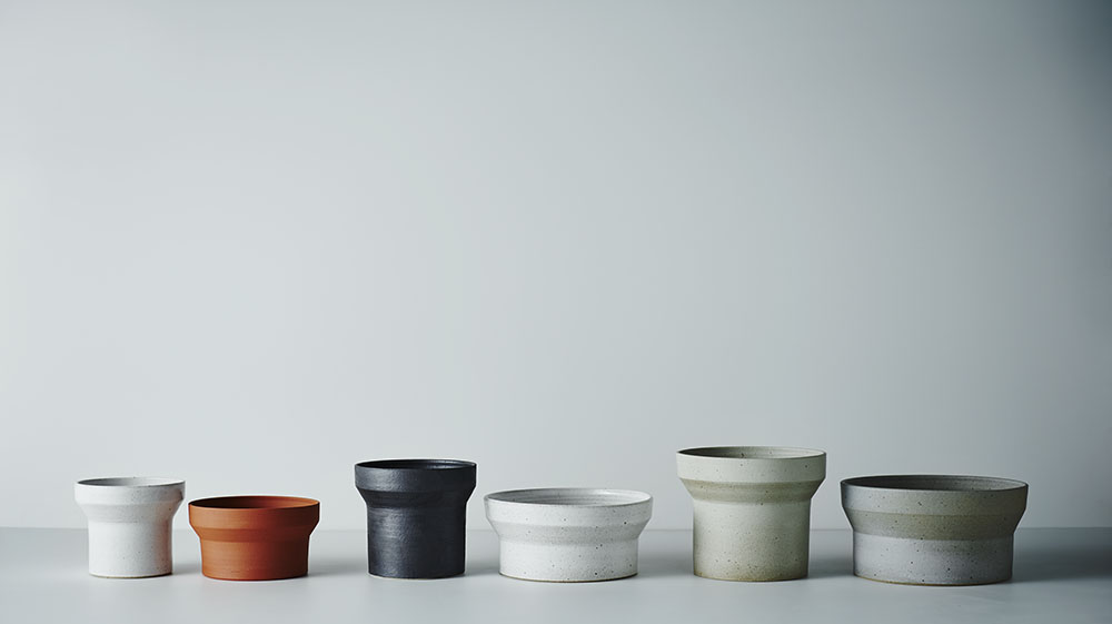1_Funnel Planter in all sizes and glazes.jpg