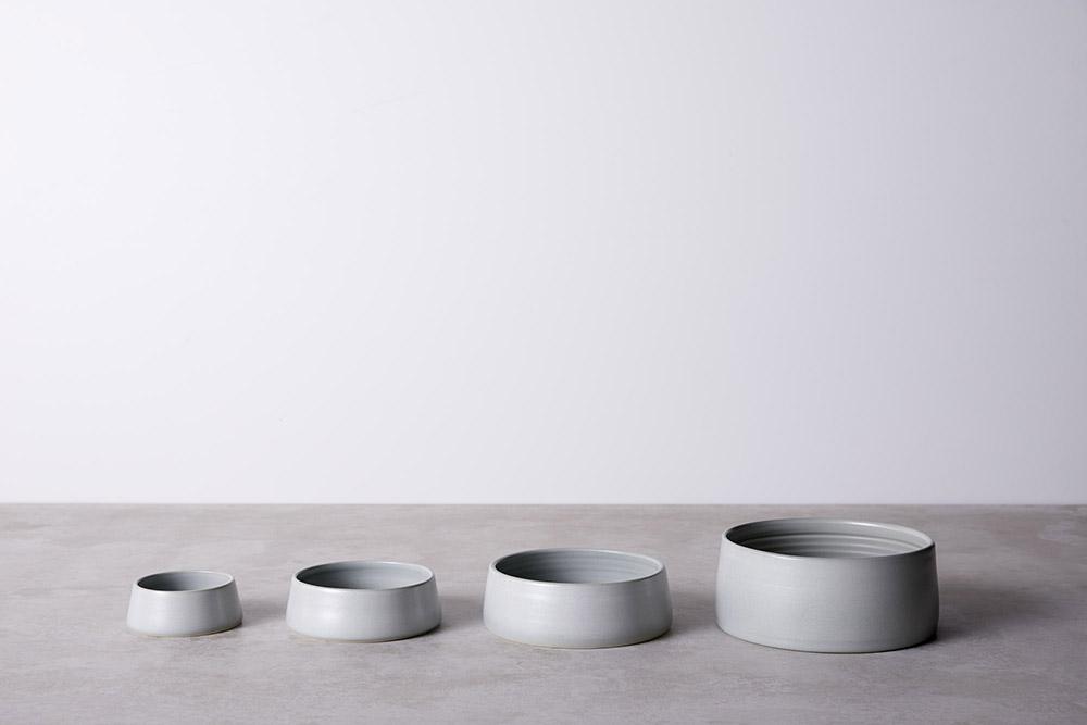 All sizes - Mid Grey Glaze Finish