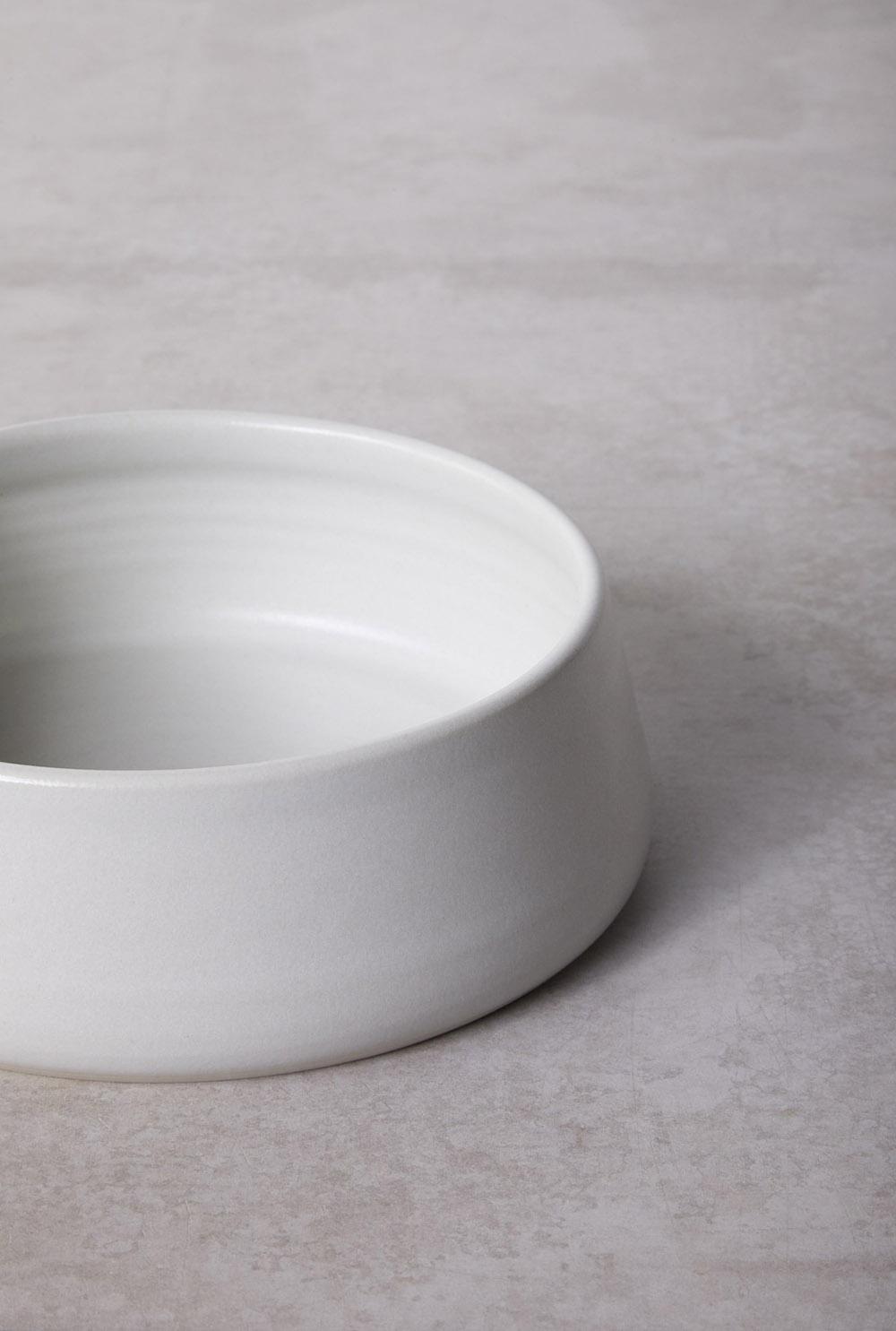 Medium - Light Grey Glaze Finish