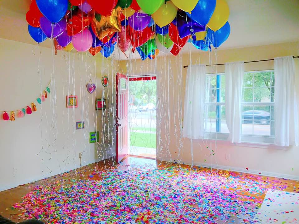Confetti Room - Main Room