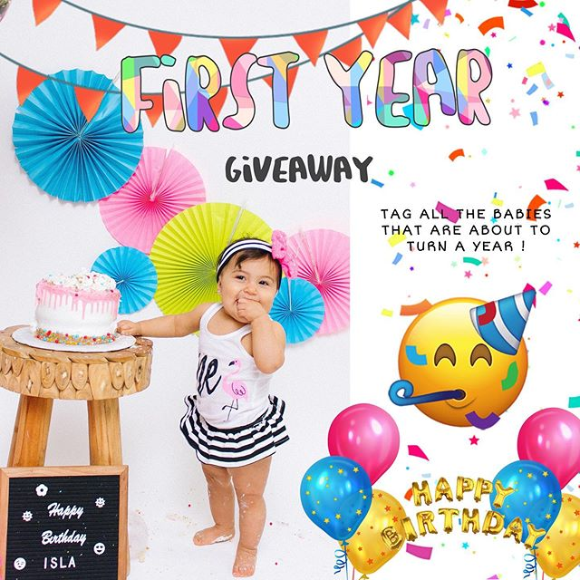 GIVEAWAY TIME!!! 🥳🥳🥳🥳 DO you KNOW any babies about to turn a year by December 1st?? We are doing 2 giveaways for two lucky babies . Whether they just turned 1 or are about to turn 1 this year !Tag one of their parents! 🇺🇸 2 WINNERS WILL BE ANNOUNCED next Wednesday JULY 10th 🎉  The winner will win a custom PHOTO SESSION with any custom theme and photos in all the setups at the studio !! You can also bring a small cake for some smash cake photos 🎂!! To participate you must: 1.✨ Follow @picnicsinthecity  2.✨Follow @themontrosestudios ✨ Like and comment on our last 3 pictures 4. ✨Tag a friend  Unlimited Entries ❤️ Photo session includes Up to 5 people ✨Tag away! ❤️🚀 More Giveaways this summer!