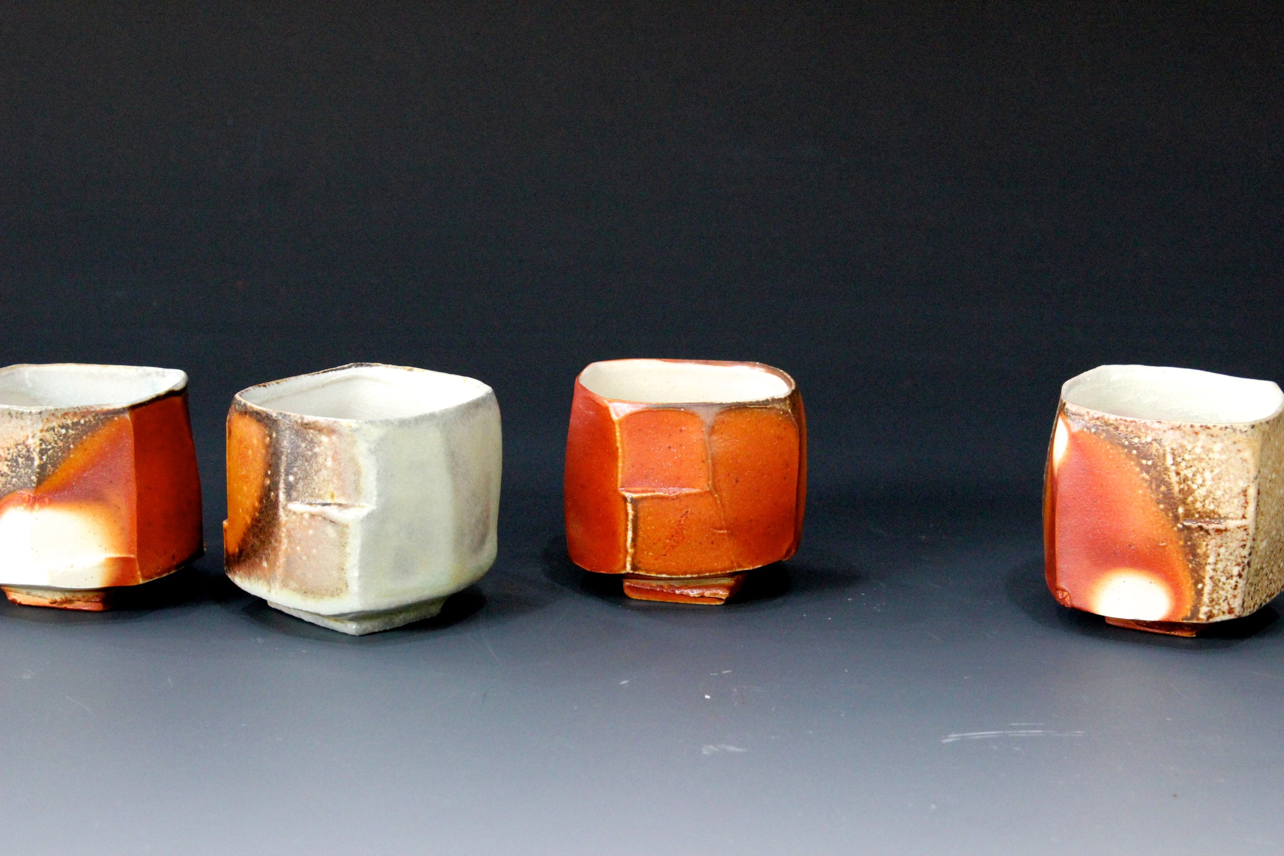 Facet Cut Sake Cups