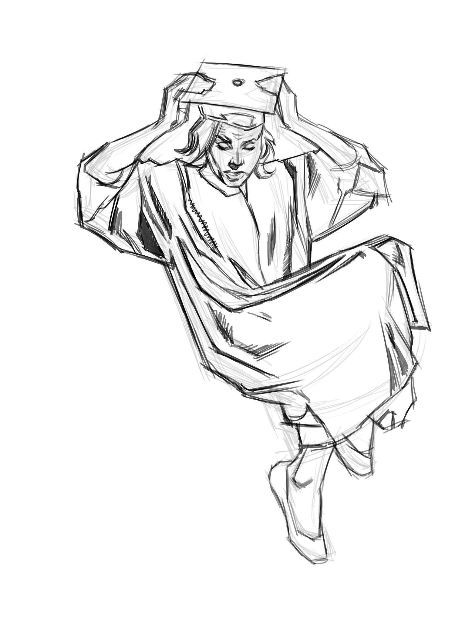 The rough sketch
