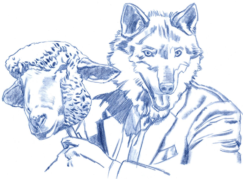 Prismacolor pencil sketch