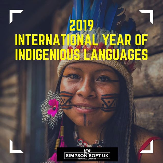2019 marks the International Year of Indigenious Languages. This year is a celebration of the wonderful heritage of languages and culture. Head to our website to see our blog on preserving languages that are close to extinction. . . . .  #InternationalYearOfIndigeniousLanguages #languages #translation #culture @unitednations #cause #savelanguages #ethnic #nature #tribal #preservation #nativeamerican  #incredibleindia #africa #worldwide #heritage #tradition