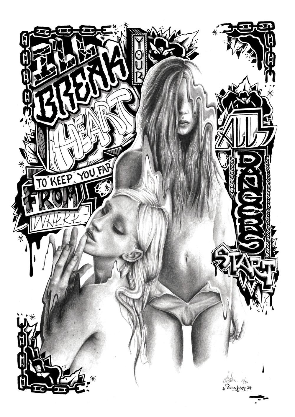 Lusid Art X John Kaye, 2014