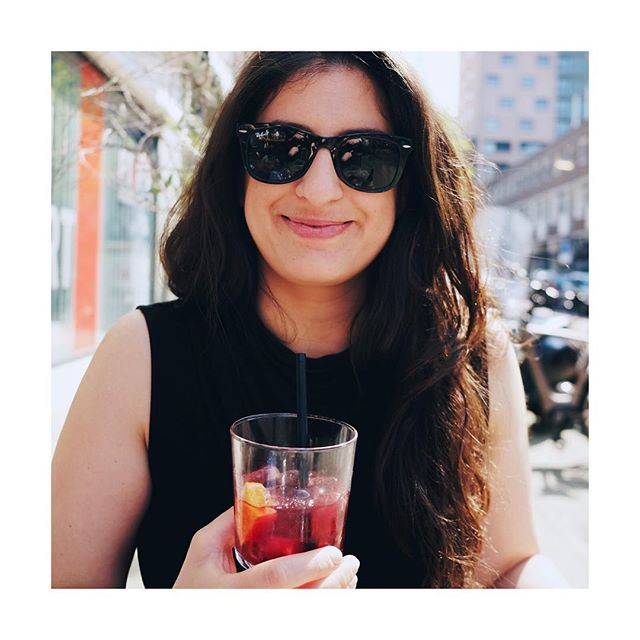First Sangria of the season! Summer is here people! ��☀�🤘🤘Cheers!