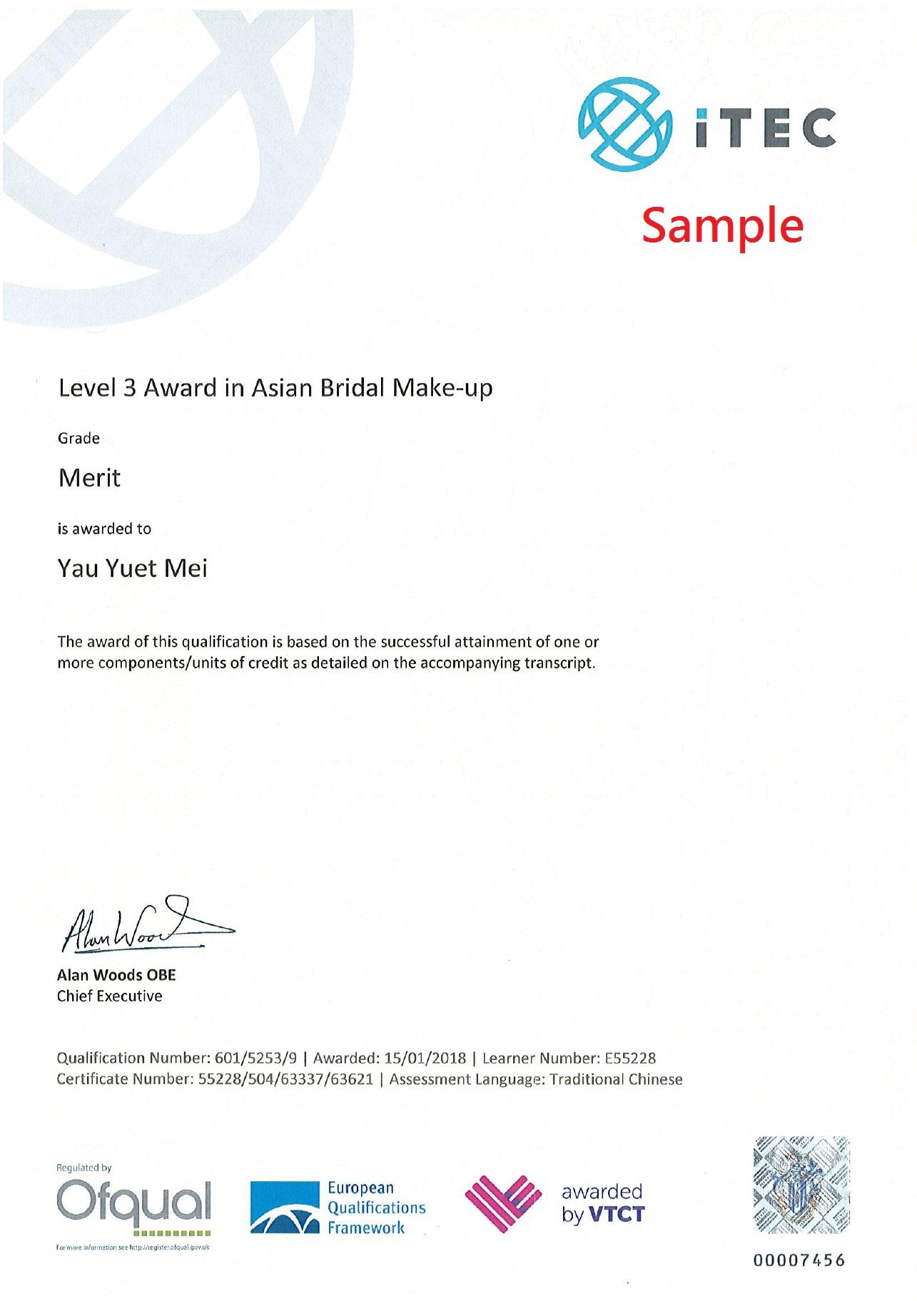 Award in Asian Bridal Make up.jpg