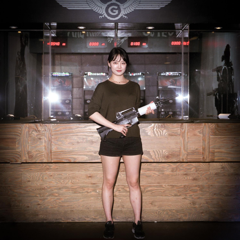 Shooting Range in Gangnam Seoul