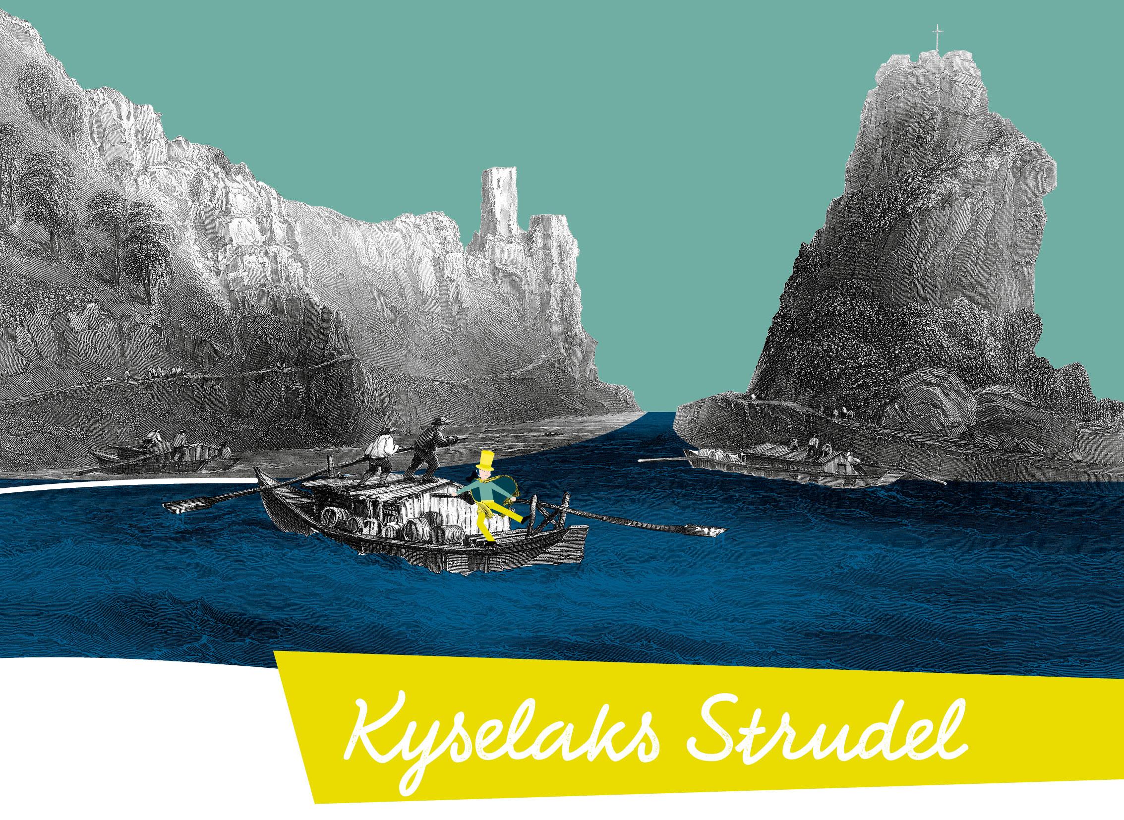 KYSELAKS Strudel – eine von 8 neuen DONAU-Geschichten