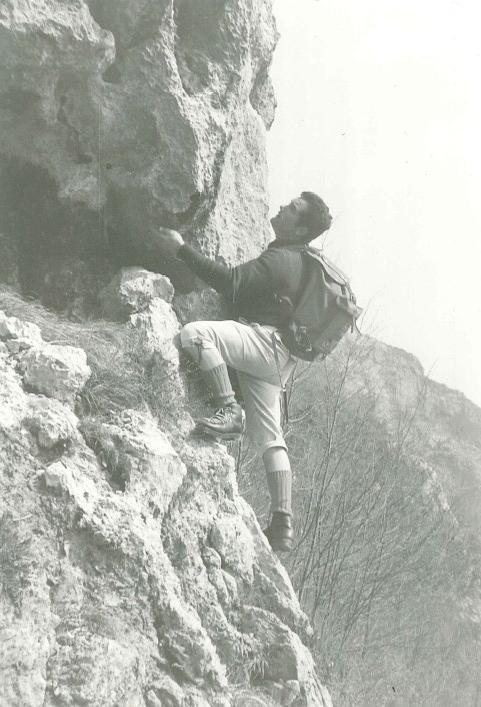 """""""Chi è alpinista col cervello e col cuore saprà trovarvi valori tutta la vita""""  G. von Saar"""