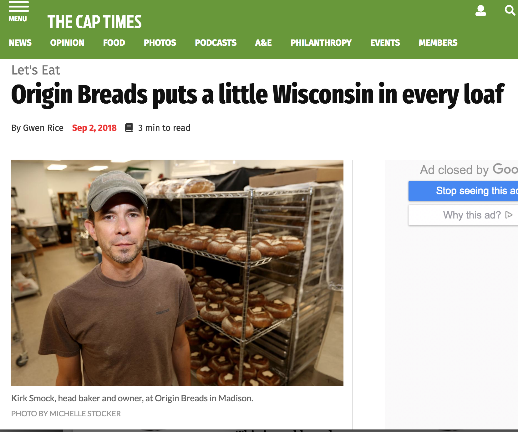 Origin Breads Puts a Little Wisconsin in Every Loaf_The Cap Times