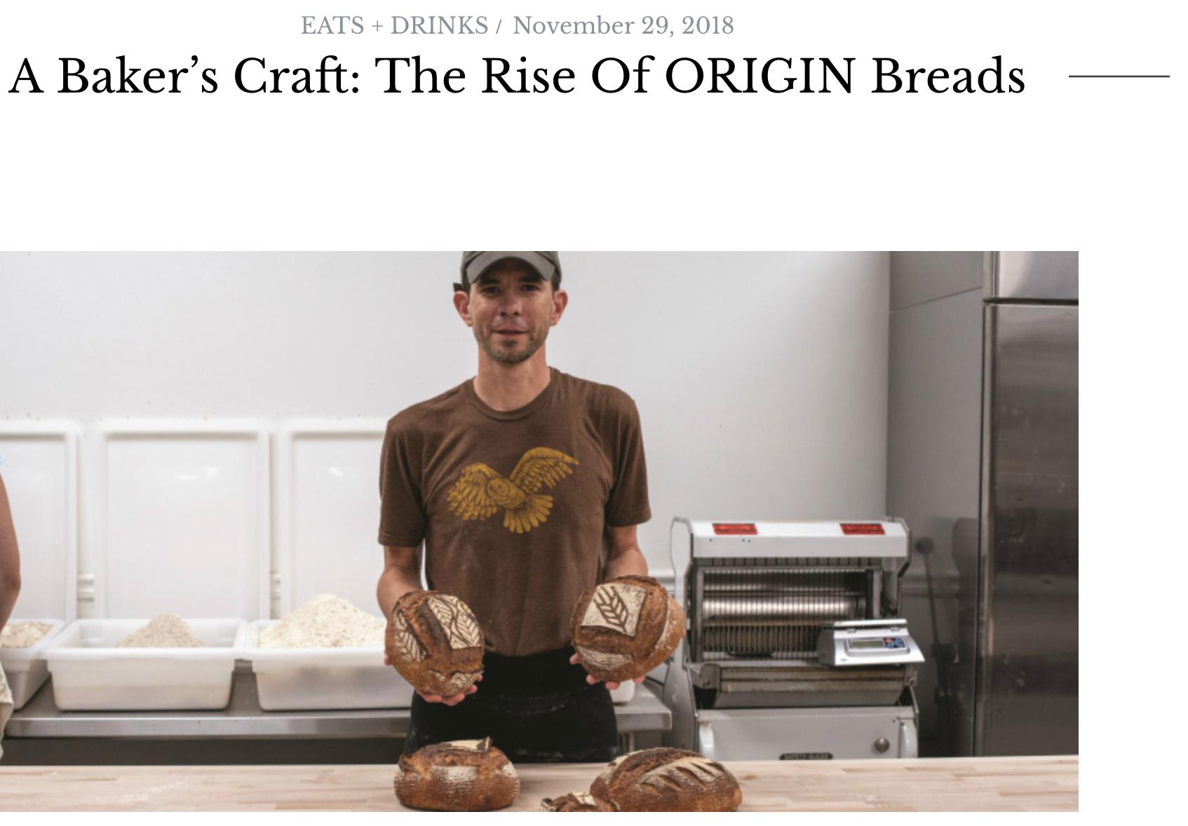 A Baker's Craft: The Rise of ORIGIN Breads_Brava Magazine