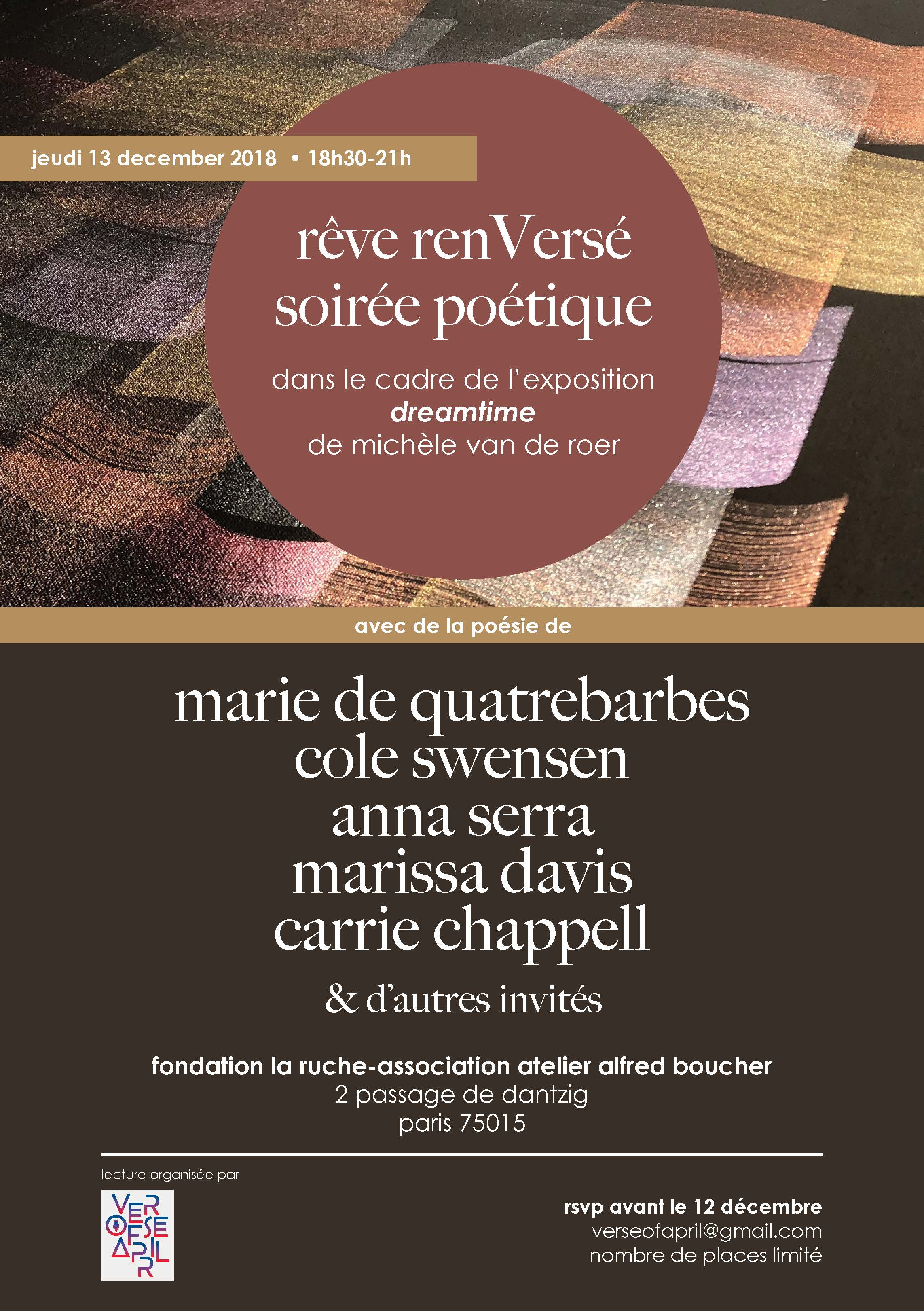 rêve renversé flyer-Verse of April.jpg