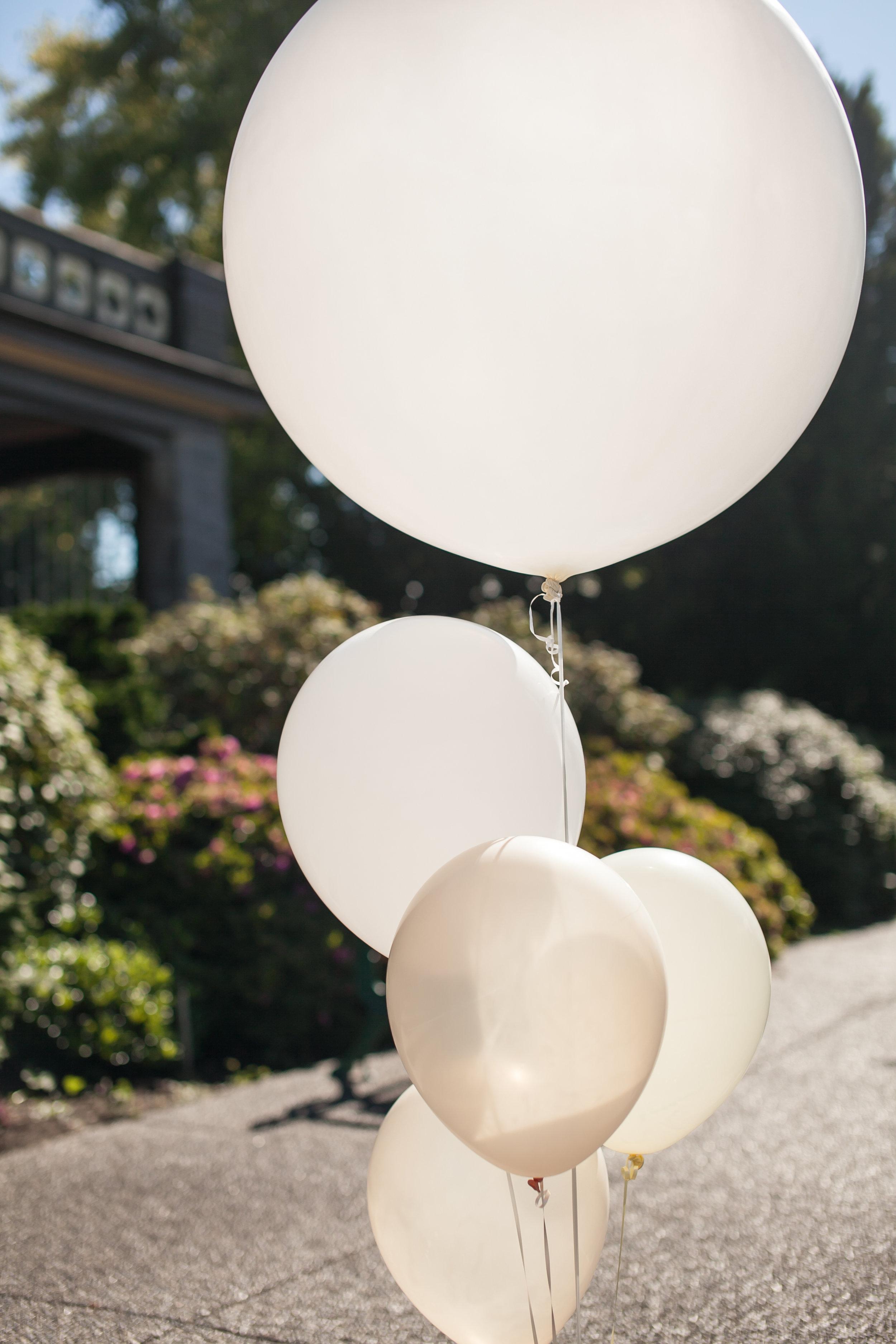 Vancouver Wedding Ballon