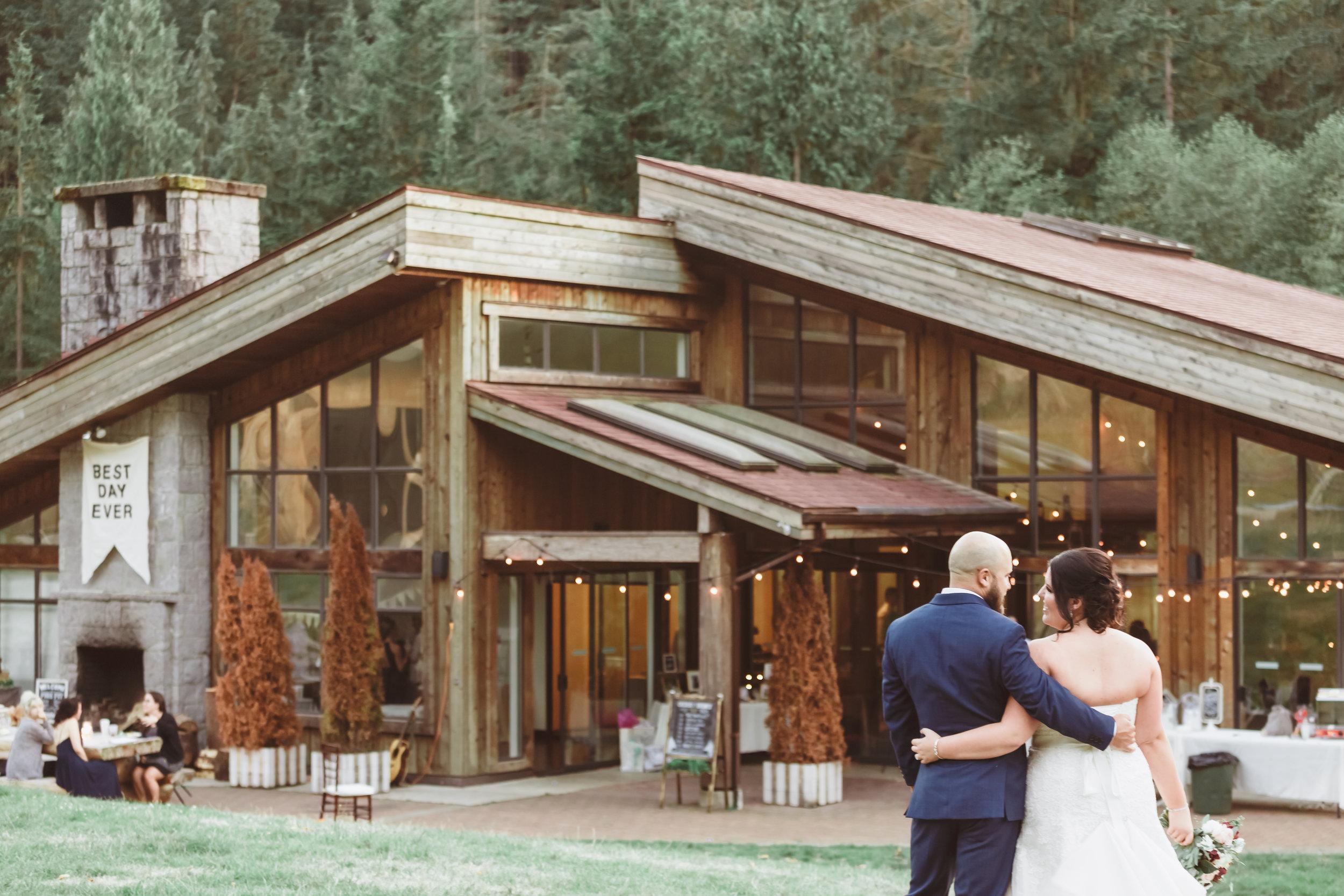 Vancouver Wedding Day Photo