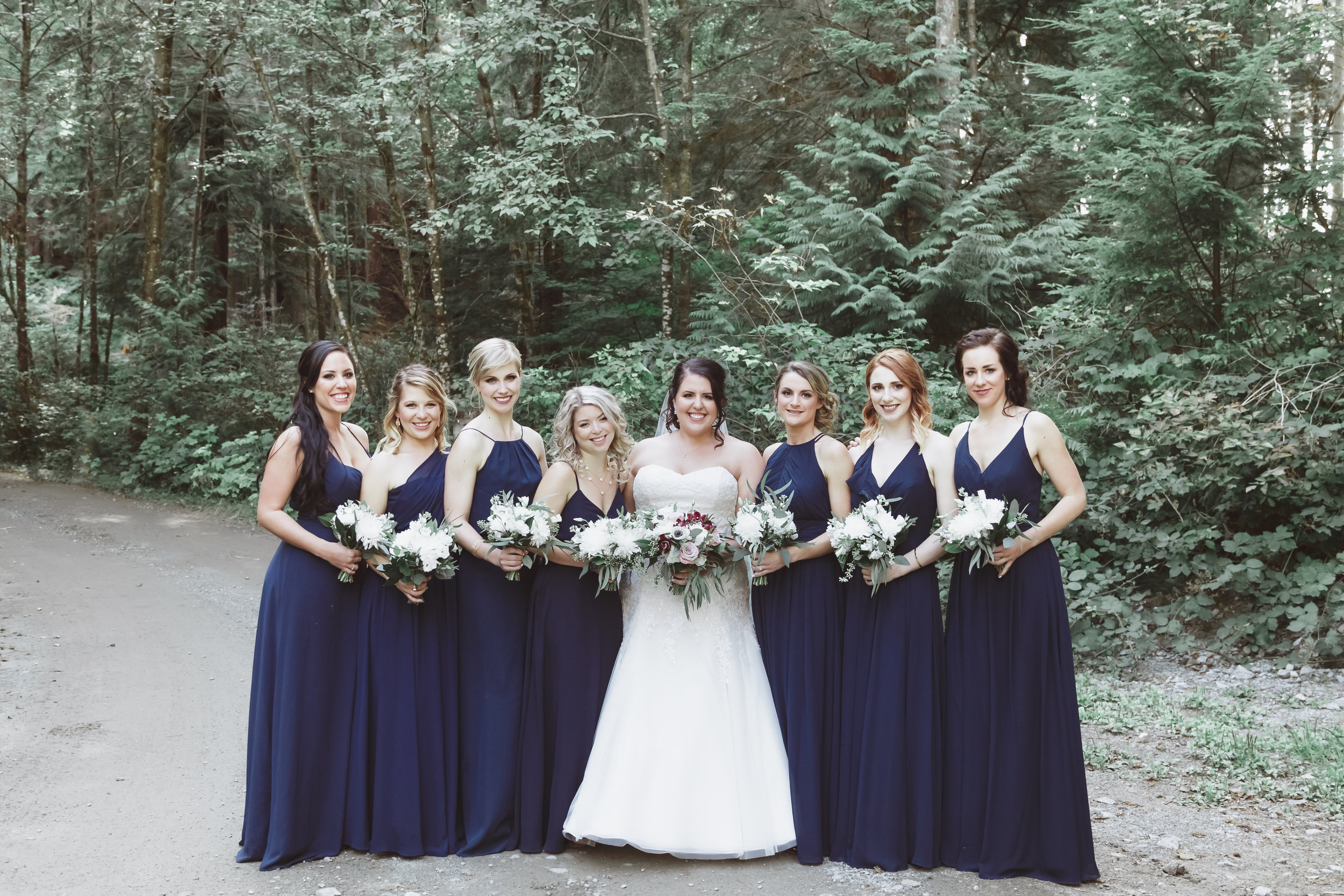 Vancouver Wedding Bridal Party