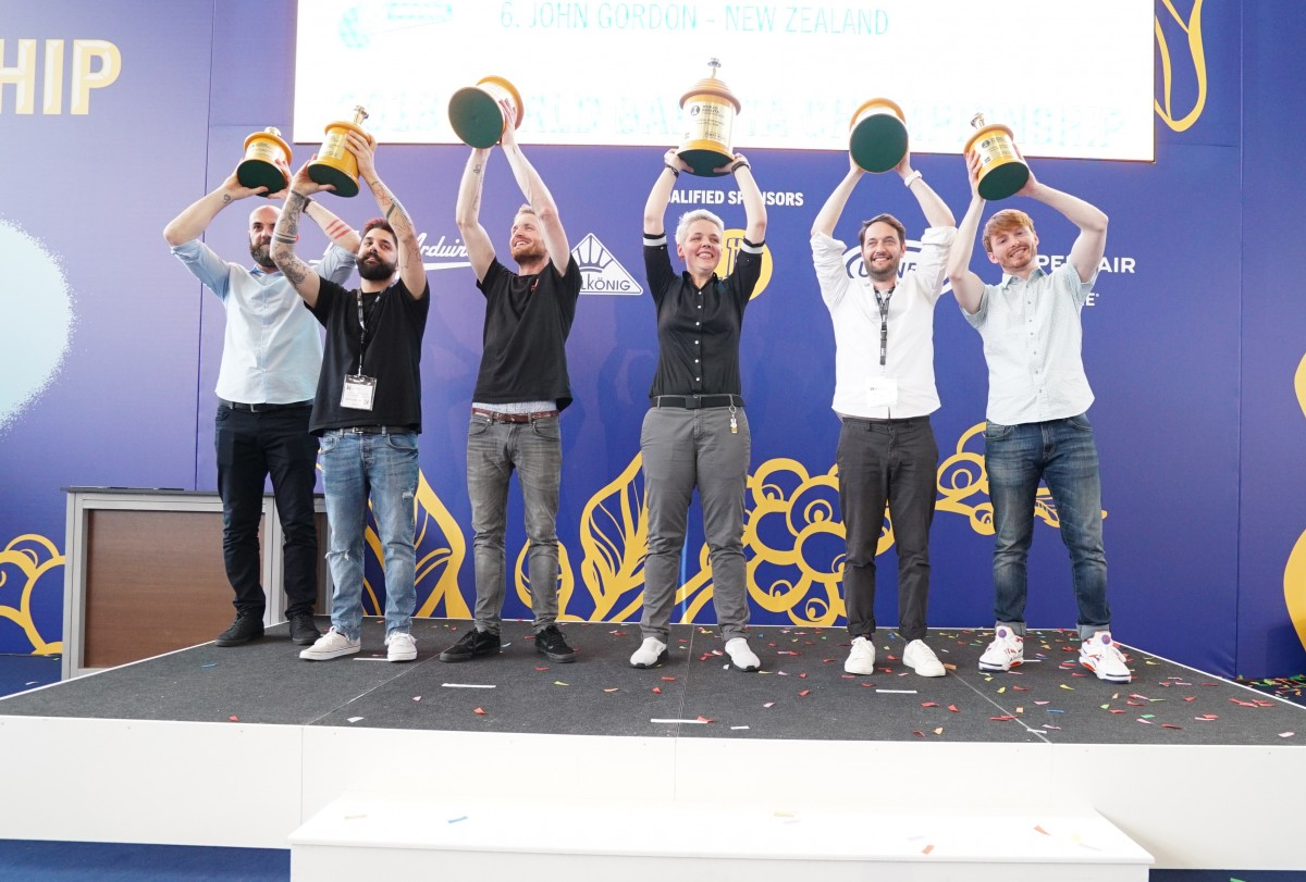 Photo:  World Barista Championship