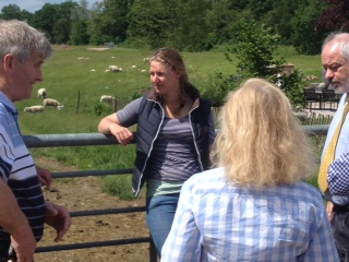 Hanna Hansen chats to the British group