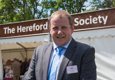 James Sage, Hereford Cattle Society Chief Executive