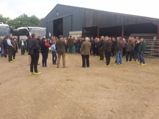 Bus tours at Lythwood Farm, Shrewsbury