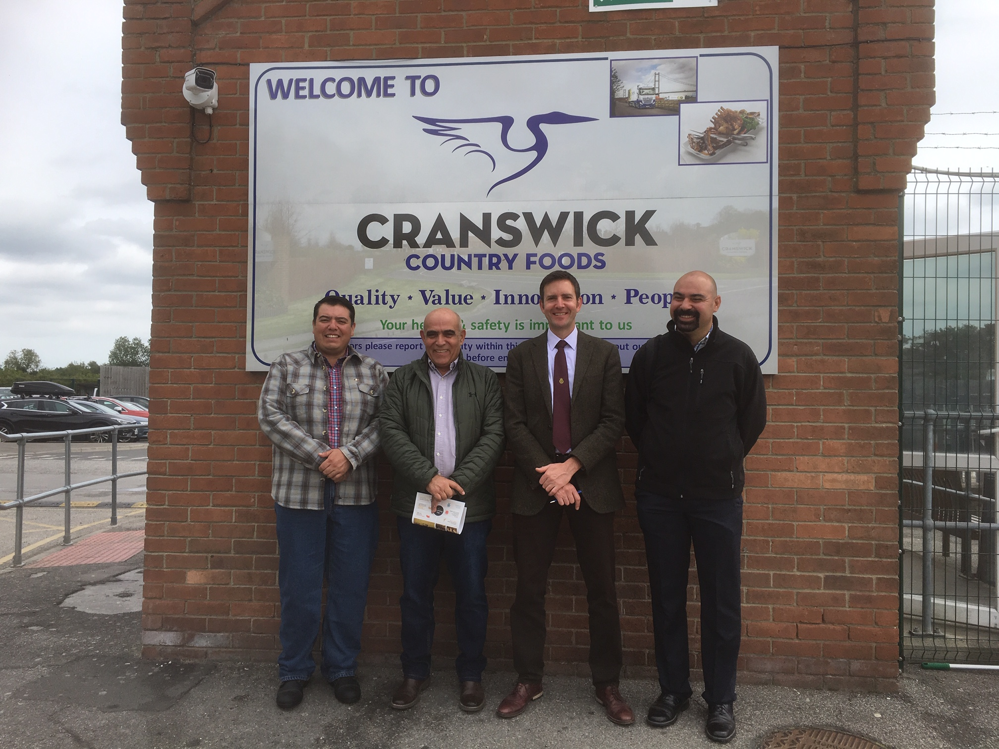 Visit to Cranswick Country Foods plc, Preston