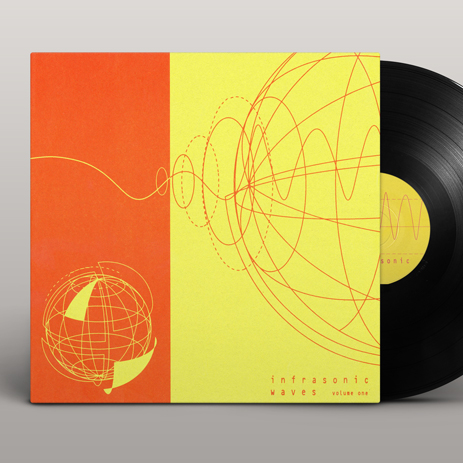 Ochre Records: Infrasonic Waves vinyl sleeve
