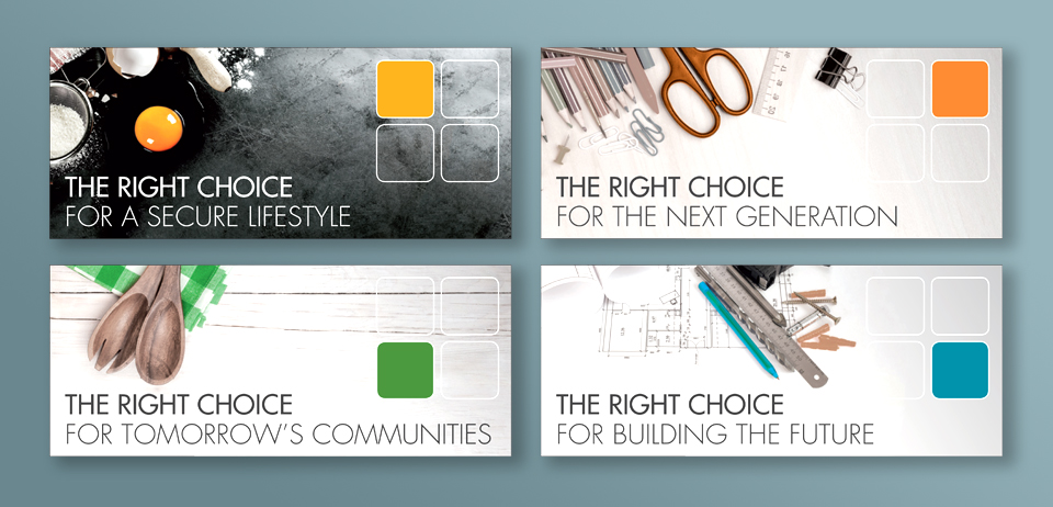 Fleetwood: sector statements and imagery (for Creative Fruition studio)