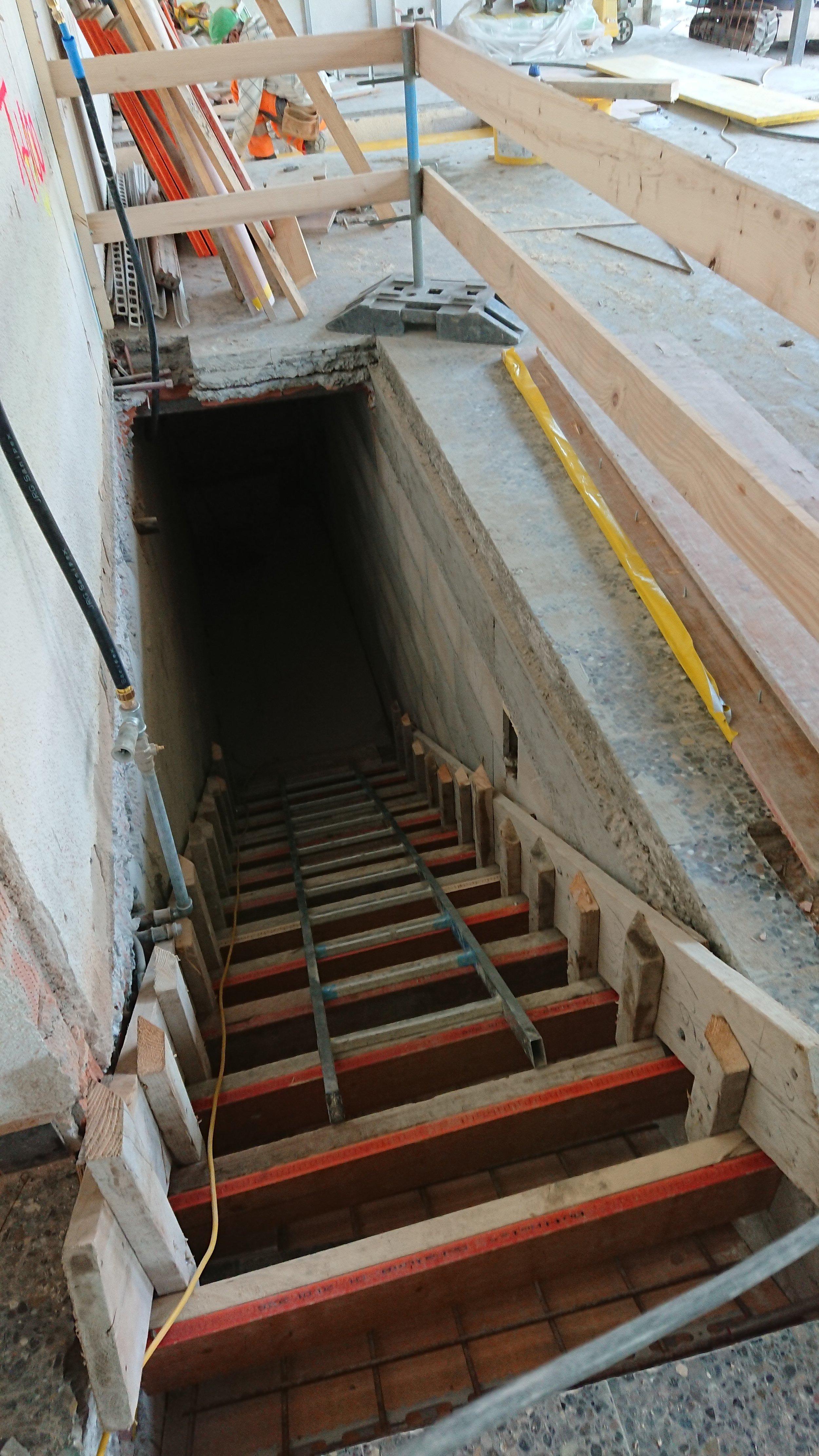 et un nouvel escalier apparaît
