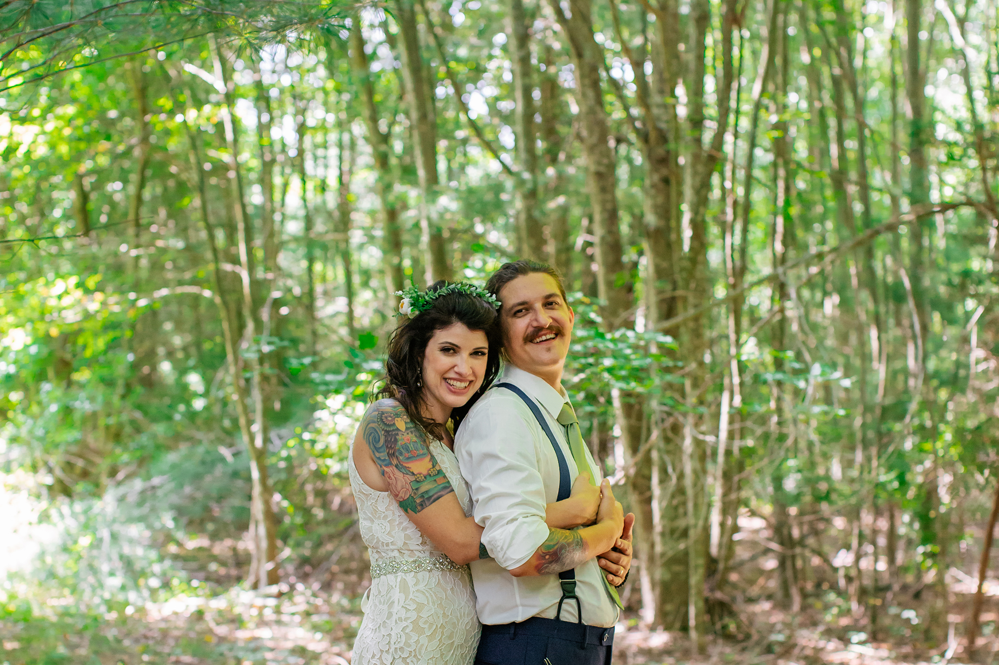 photography by mallory - woodland wedding ceremony.jpg