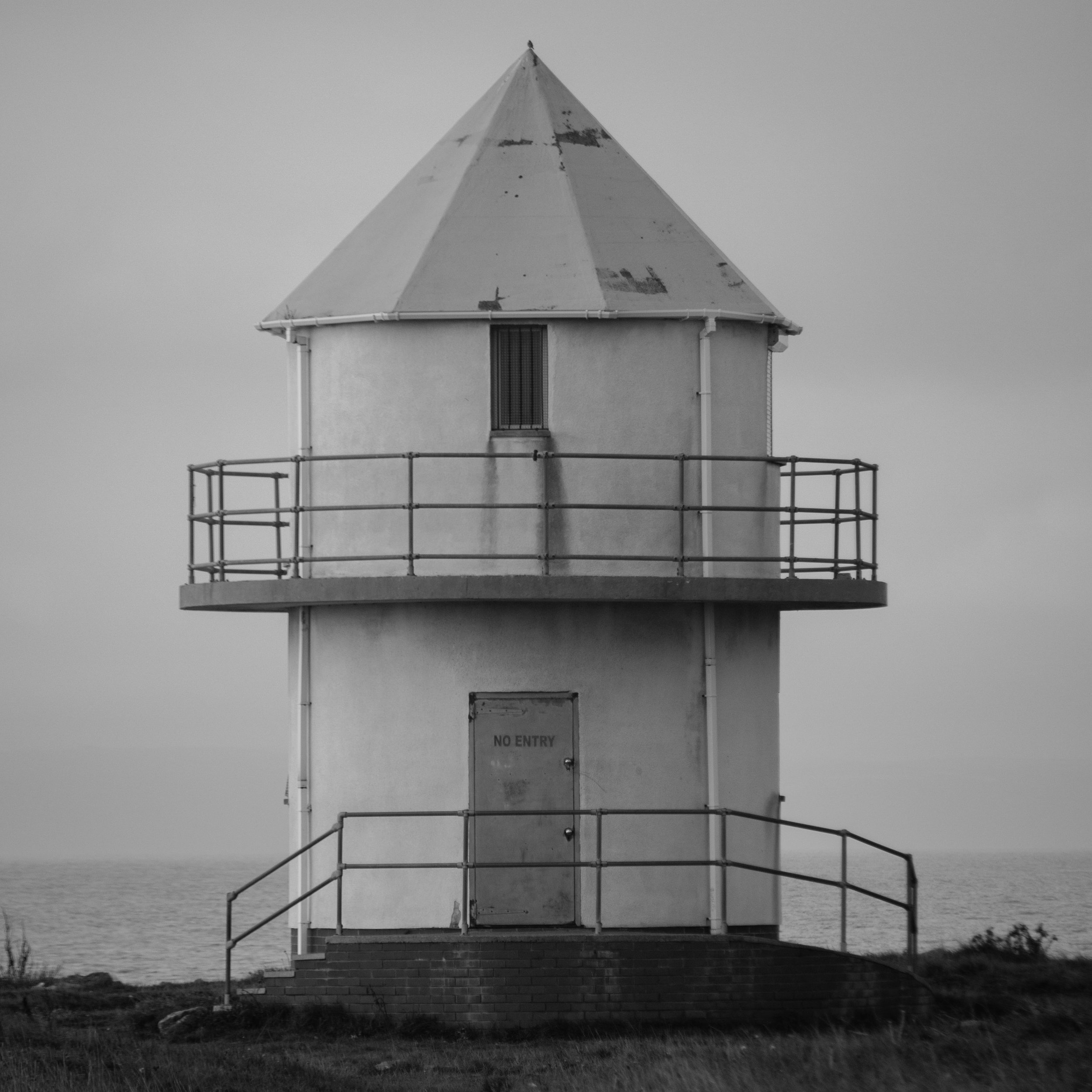 Old lifeguard lookout tower